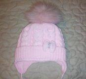 Зимняя до года шапка