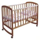 Кроватка Фея 304 медовая