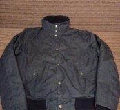 Продам шикарную куртку бомбер хлопок тёплый размер