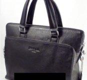 ✔️Мужская сумка/портфель/планшет ▪️PRADA▪️Кожа