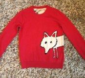 Продается шикарный, яркий, кашемировый свитер