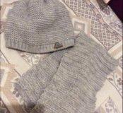 Комплект шапка и шарф-хамут