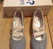 Новые туфли ki6, 21,5 см