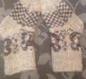 Носки шерстяные новые