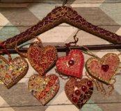 Валентинки, сердца