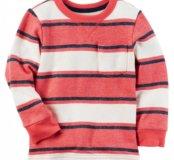 Carters новый пуловер полосатый