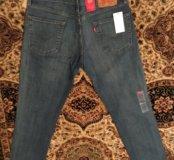 Новые джинсы Levi's 511 модель с бирками
