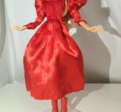 Два винтажных платья и сапожки для Барби