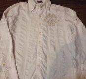 Продам фирменную очень красивую рубашку хлопок L