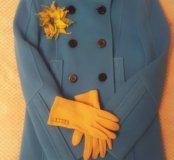 Пальто, шерсть/кашемир,44 размер, Италия