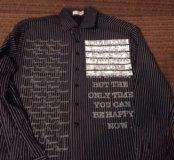 Продам шикарную красивую рубашку размер L -50 хлоп