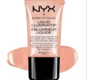 NYX born to glow illuminator кремовый хайлайтер
