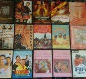 DVD диски с кино и игрой