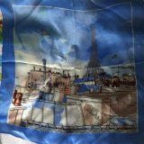 Шелковый шейный платок из Франции