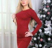 Платье новое,трикотаж