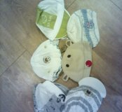 Футболочки боди песочники шапочки