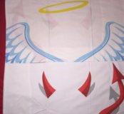 Наволочки новые Ангел и Демон