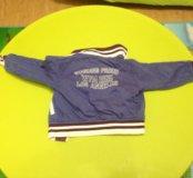 Двусторонняя ветровка куртка