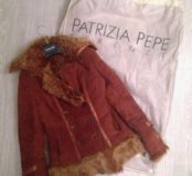 Дубленка Patrizia Pepe, размер 42-44 S