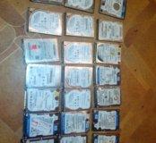 Нерабочие жесткие диски HDD SATA 2.5 для ноутбуков