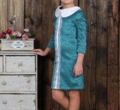 Комплект из 2-х платьев 146 размера новый на девоч
