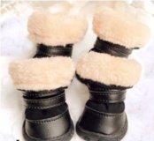 Зимняя обувь для собак новая