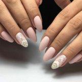 Наращивание ногтей гелям