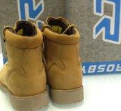 Ботинки Зимние (новые). Нат. шерсть, нат. нубук