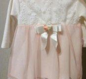 Платье 74-80 разм
