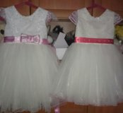 Нарядное платье р104-110
