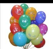 Смайлики ( улыбки) шары гелиевые