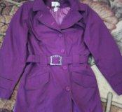Куртка на весну, цвет- фуксия