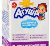 Агуша кисломолочная 2