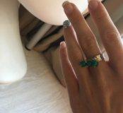Набор: кольцо+серьги