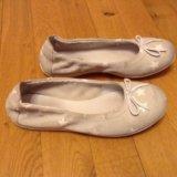 Светло-серые балетки Mod8, кожа, 21 см
