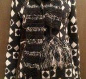 Длинный вязаный женский шарф Mexx