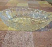 Хрустальная ваза, салатница, посуда