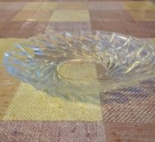 Хрустальная ваза, посуда
