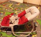 Детский шезлонг с рождения