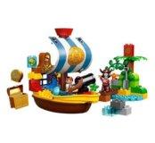 Лего дупло Пиратский корабль Джейка 10514