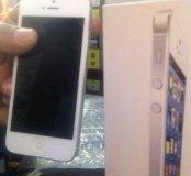 Iphone 5 белый хром