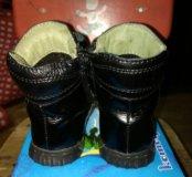 Кожаные сапожки для девочки