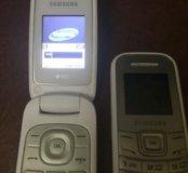 Продам два телефона самсунг