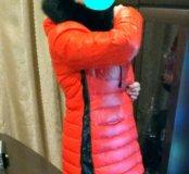 Зимняя куртка пух/перо с Норковым воротником