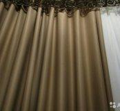 Шторы новые блэкаут светозащита Maxi-100 2 полотна