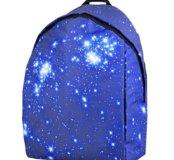 Рюкзак с космическим принтом ЗВЕЗДЫ, новый