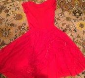 Платье для бальных танцев