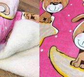 "Новое тёплое одеяло двойное ""Собачки"""
