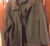 Куртка мужская типа замши