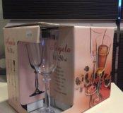 Новый набор бокалов для вина BOHEMIA, Чехия